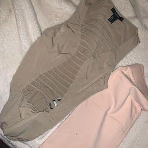 F21 Lattice Bodysuit